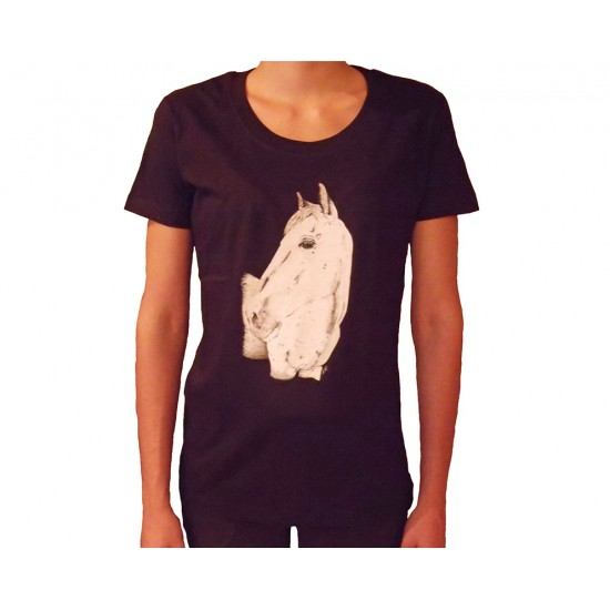 T-shirt femme - Collection cheval
