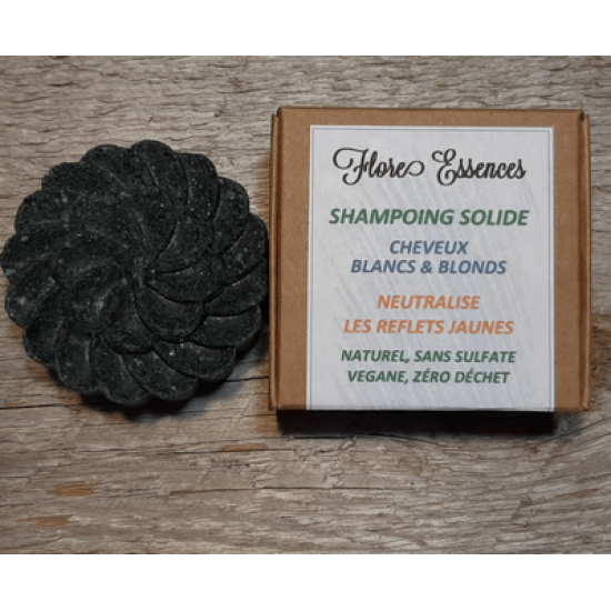 Shampoing solide 55gr CHEVEUX BLANCS - normaux à...