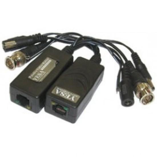 Balun extendeur pour caméra de surveillance