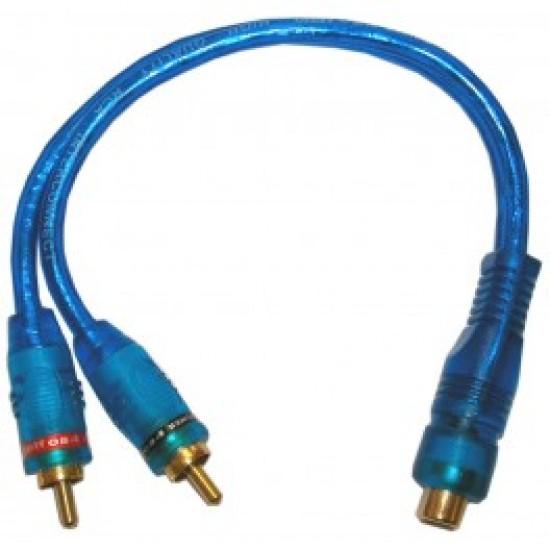 Câble adapteur RCA en Y