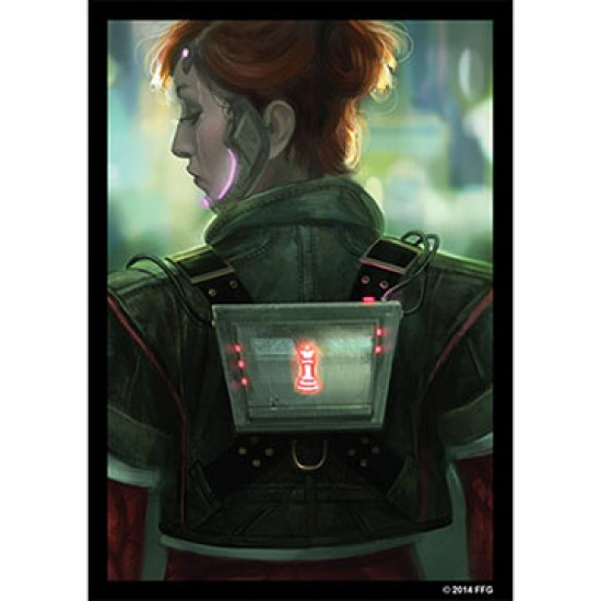 Android Netrunner - Deep Red - Sleeves / Protège...