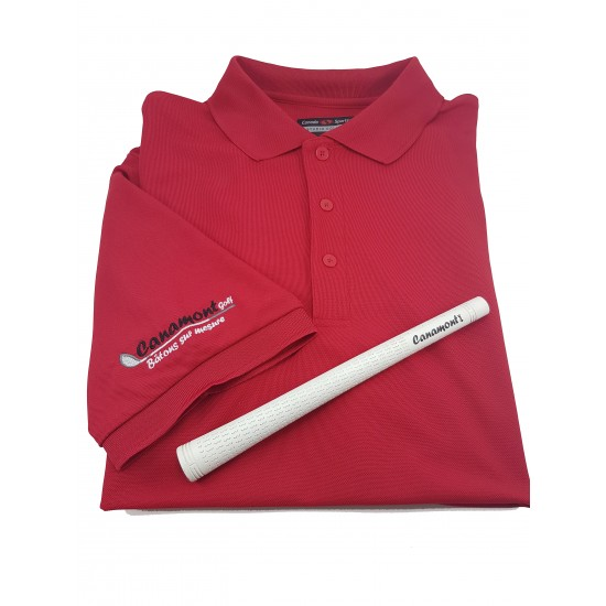 Polo avec logo Golf Canamont
