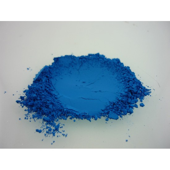 Pigment bleu néon