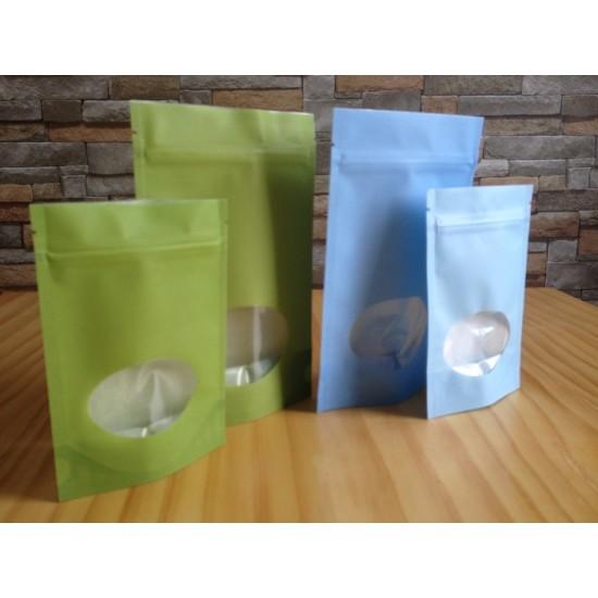 Sacs refermables poly/papier de riz - Petit
