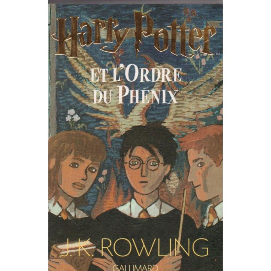 Harry Potter et l'ordre du Phénix, J K  Rowling
