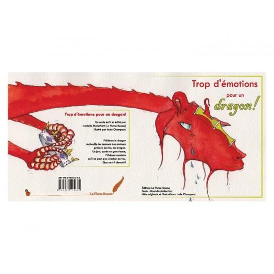 Album illustré - Trop d'émotions pour un dragon!