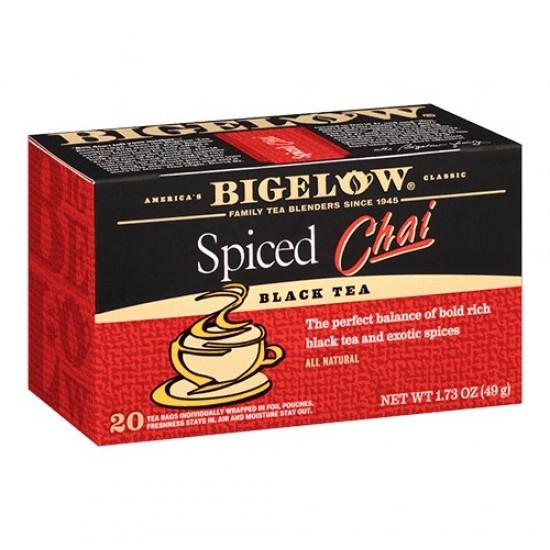 Thé noir épicé Chai - Bigelow