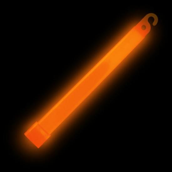 Batons Lumineux 6 pouces Orange - paquet de 25
