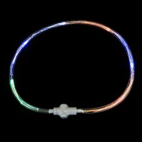 Collier DEL Lumineux Multicolore