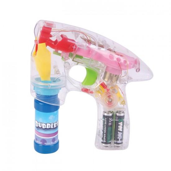 Pistolet a bulle de savon avec lumiere DEL 7
