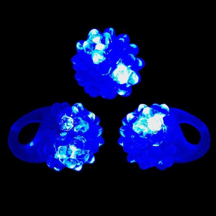 bague led lumineuse bleu. Black Bedroom Furniture Sets. Home Design Ideas