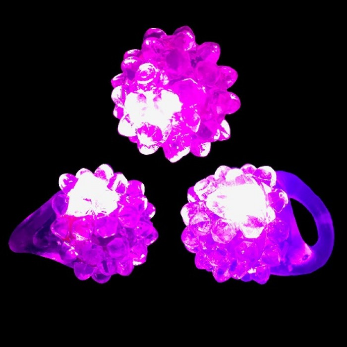 bague led lumineuse rose. Black Bedroom Furniture Sets. Home Design Ideas