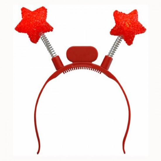 Antennes Lumineuses Del Etoiles Rouges - en paquet...