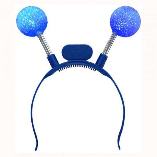 Antennes Lumineuses Del Boules Bleues - en paquet...