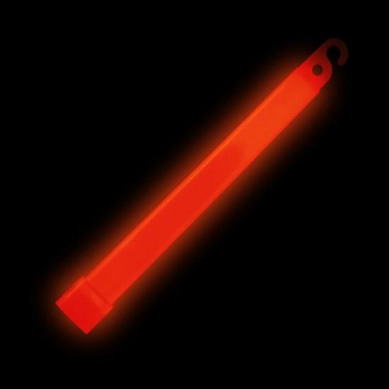 Batons Lumineux 6 pouces Rouge - paquet de 25