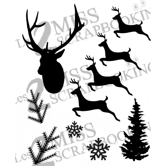 Kit forêt de Noël