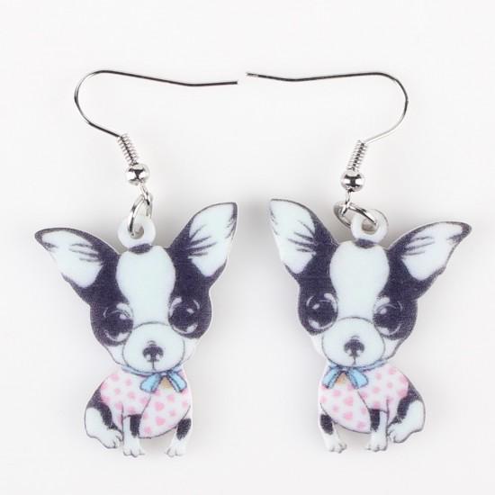 Boucles d'oreilles Chihuahua
