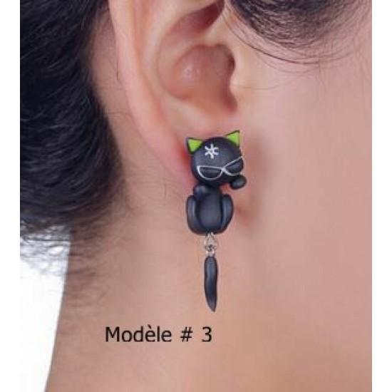 Boucles d'oreilles Chats