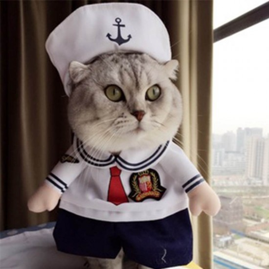 Costumes Petit Marin pour animal de compagnie