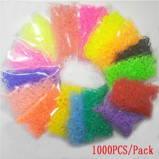 Élastiques pour chien, couleurs unies, paquet de...