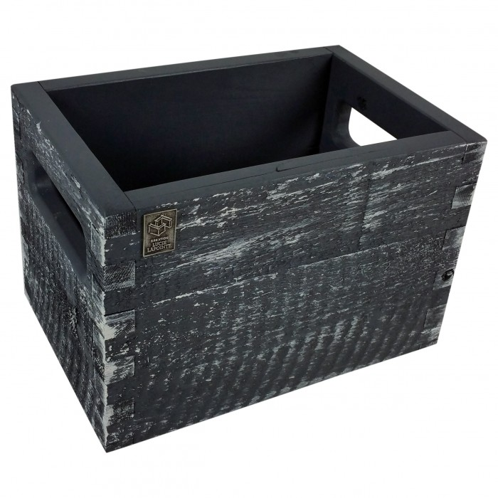 boite de rangement rustique. Black Bedroom Furniture Sets. Home Design Ideas