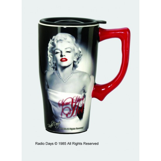 Tasse de Voyage Marilyn Monroe en céramique / Hot