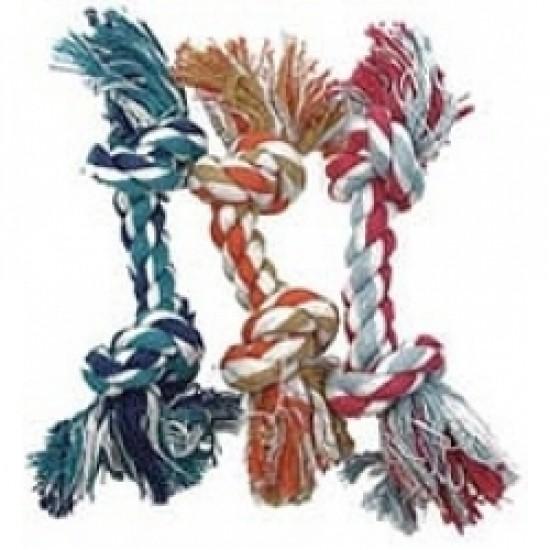 Jouets pour chien cordes multicolores 12''