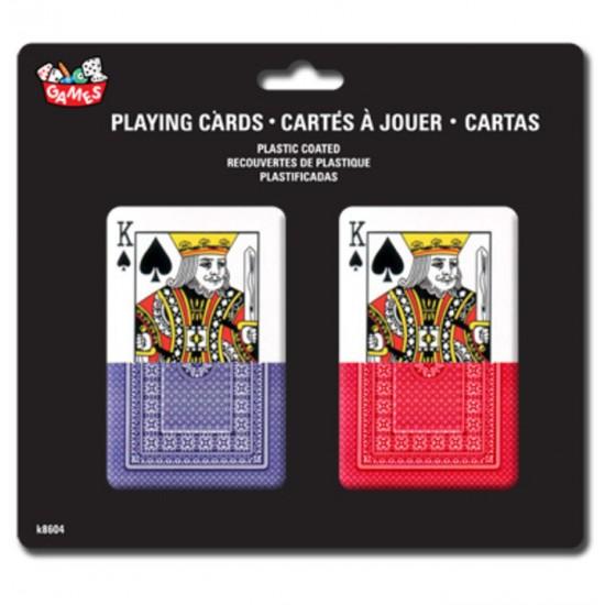 Jeu de cartes classique paquet de 2