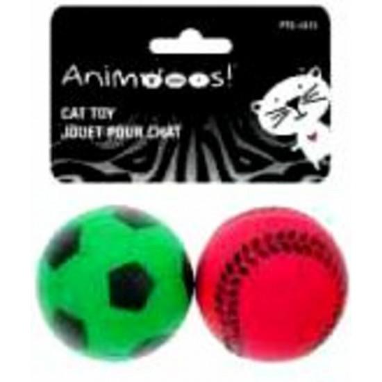 Jouet pour chat Balles style sportif