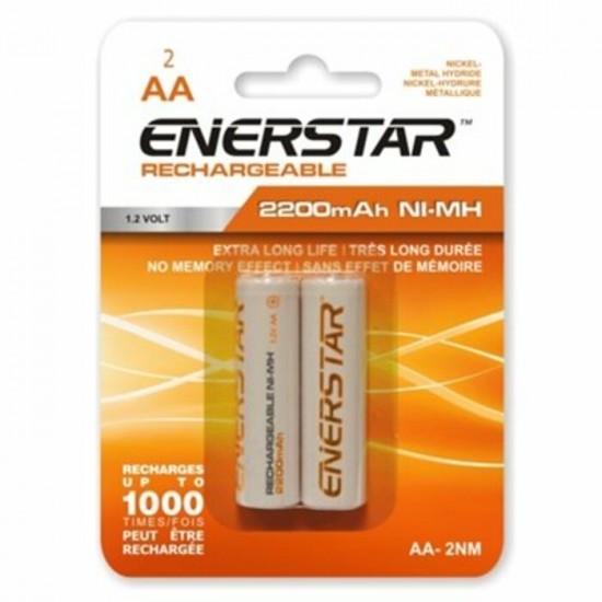 Piles AA Ni-MH rechargeable Enerstar