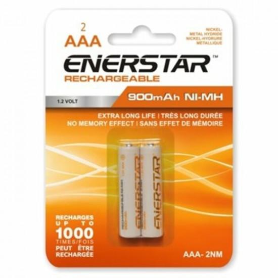 Piles AAA Ni-MH rechargeable Enerstar