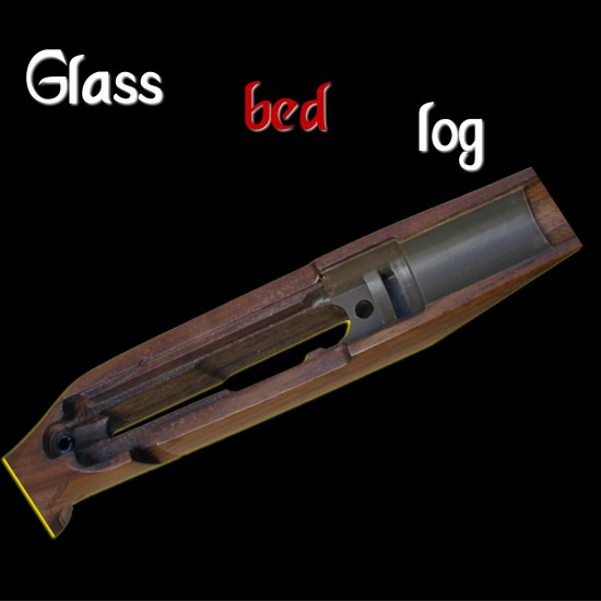 Faire glass bed log
