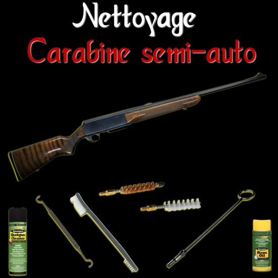 Nettoyage carabine semi-auto