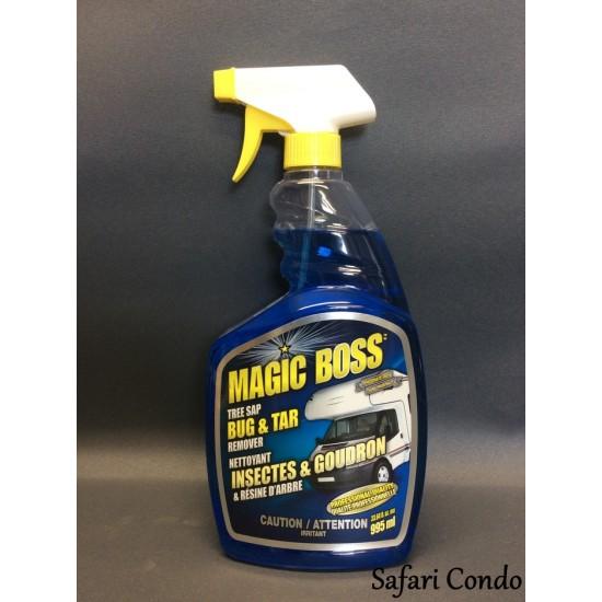 Nettoyeur de mouches et de goudron Magic Boss