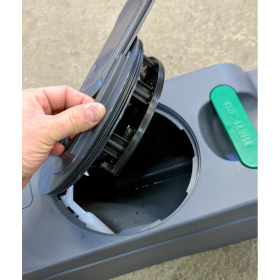 Mécanisme de remplacement de toilette à cassette...