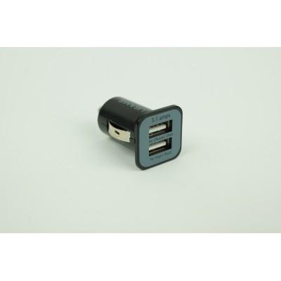 Chargeur USB pour l'auto DOUBLE