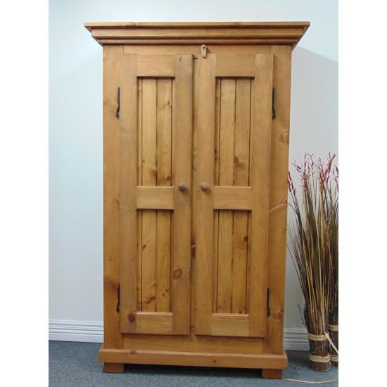 Meuble en pin Armoire  2 portes