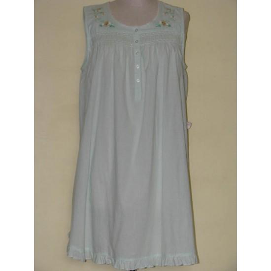 Robe de nuit usagée adaptée vert pâle CLASSIC...