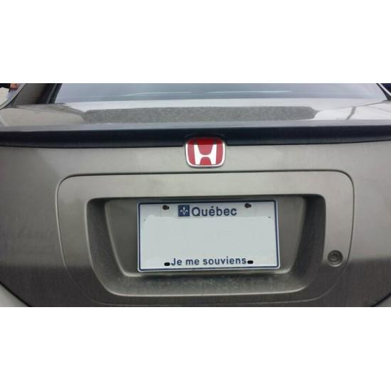 Emblème Type-r arrière Civic 2 portes Lx-Dx...