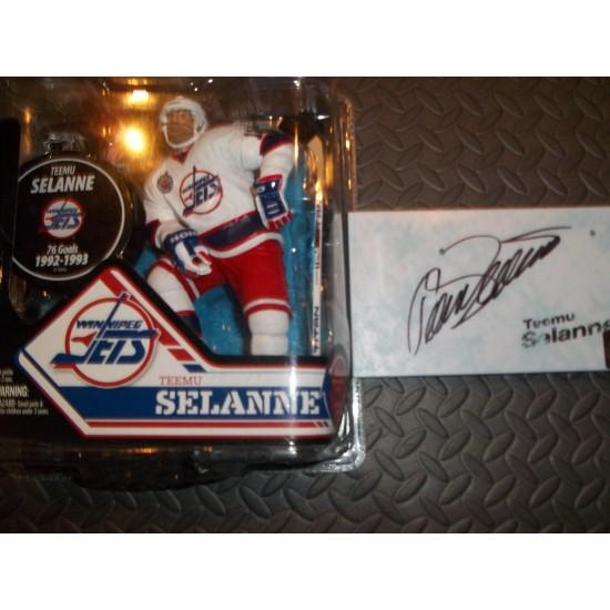 Teemu Selanne McFarlane Jets de Winnipeg signée...