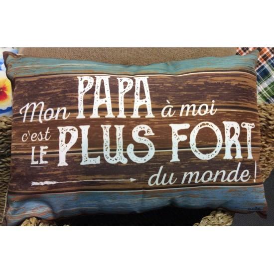 Coussin, Mon Papa