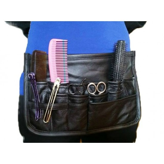 tablier en cuir pour coiffeur(coiffeuse)
