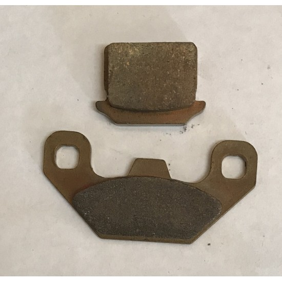 BCC60030 BRAKE - PAD SET REAR SEMI-METALLIC -...