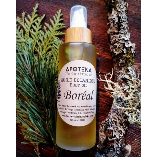 Massage Boréale - Parfum de foret