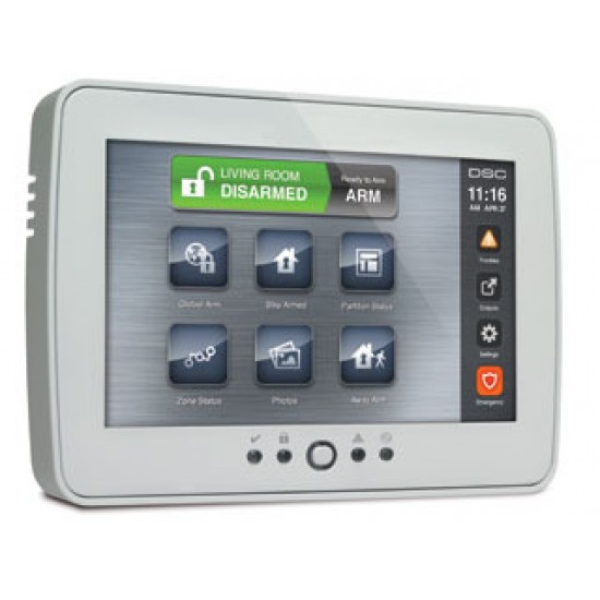 Interface de sécurité à écran tactile PTK5507