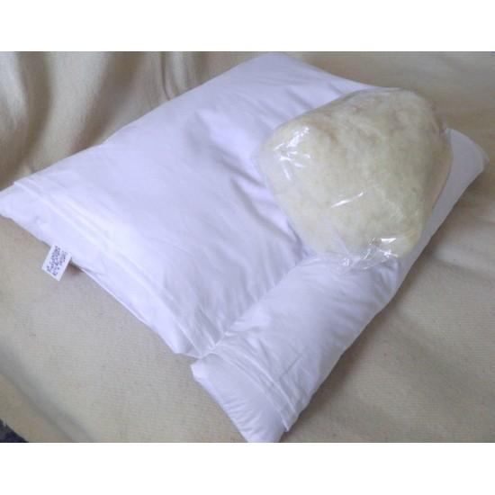 Oreiller cervical - 100 % laine