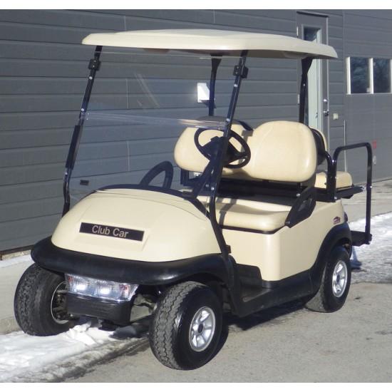 Pare-brise clair pour voiturette de golf