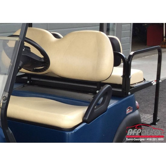 Tissus beige pour voiturette de golf