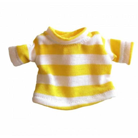 T-shirt rayé pour poupée Mélie et Mélo