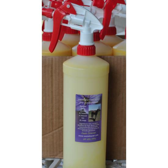 Liquide protecteur estival pour chevaux et animaux